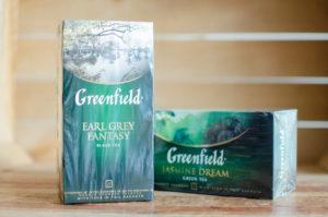 Чай Greenfield зеленый с ароматом жасмина