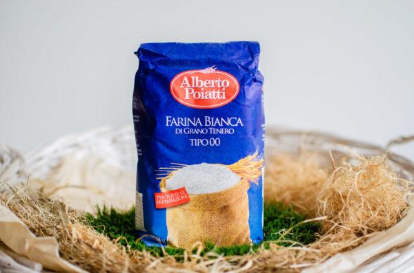 Мука пшеничная Farina bianca Alberto Poiatti