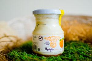йогурт термостатный 2,5% с абрикосом