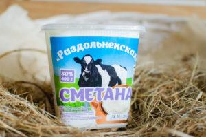 """Сметана """"Раздольненская"""" 30%"""