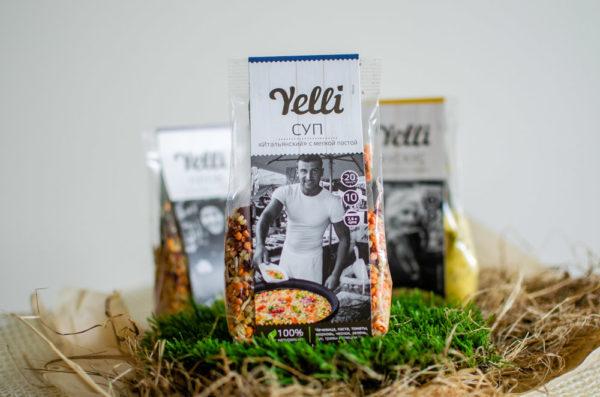 """Суп Yelli """"Итальянский"""" с мелкой пастой"""