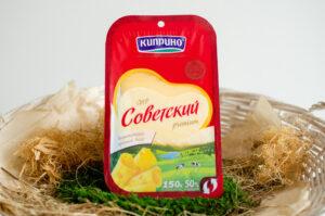 """Сыр """"Советский"""" 50%, Киприно"""