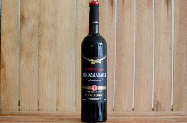"""Вино """"Kindzmarauli"""", Megobari"""