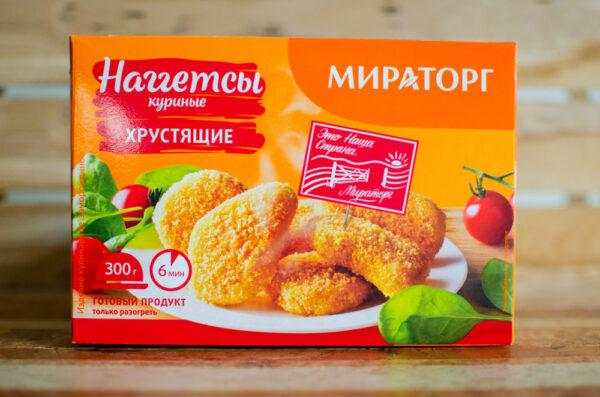 """Наггетсы куриные хрустящие, """"Мираторг"""""""