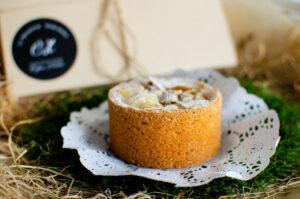Сырный фермерский пирог с грушей