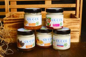 """Йогурт GREEK,""""Полезные продукты"""""""