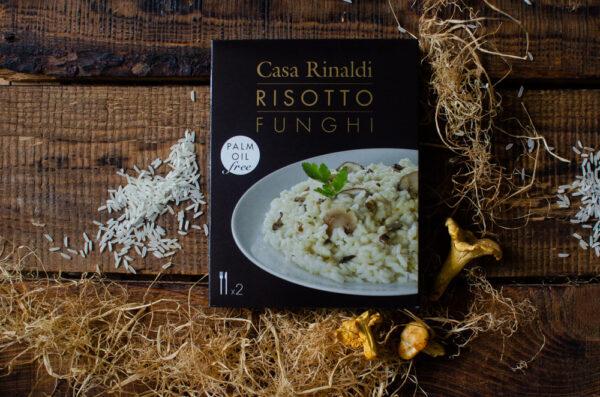Ризотто с белыми грибами Casa Rinaldi