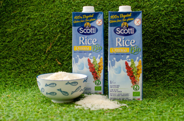 Riso Scotti, рисовый напиток с киноа